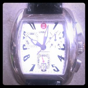 MW Watch with Leather Band